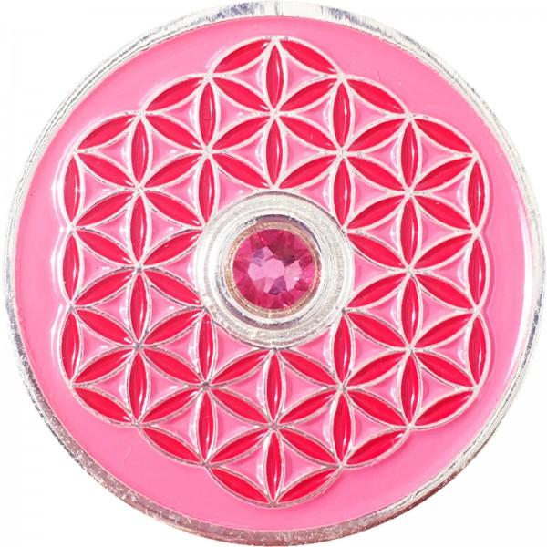 Berk Innere Welten EN-730-1 Taler Blume des Lebens - Ich liebe dich!