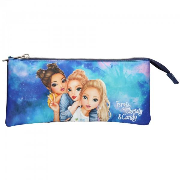 Depesche 10759 TOPModel Fächerschlamper Fergie, Christy, Candy aquarell blau