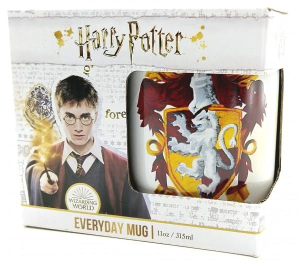 Pyramid Harry Potter Tasse Gryffindor Wappen Becher