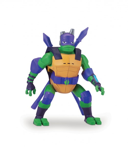 Rise of the Teenage Mutant Ninja Turtles Side Flip Ninja Attack Donatello 81402