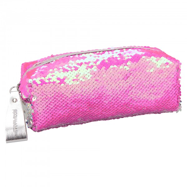 TOPModel Schlamper Streichpailletten pink - silber Depesche 10416