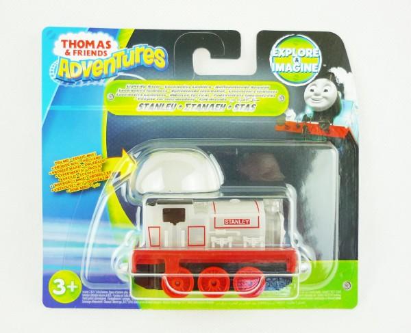 Thomas & Friends Adventures Eisenbahn Rennlok + Licht Stanley DXV20