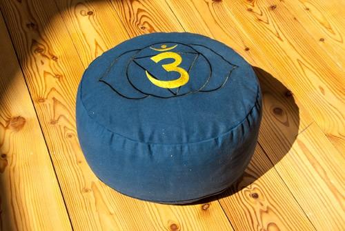 Berk YO-30-6 Stirnchakra Meditationskissen mit Buchweizen gefüllt ca 36x15cm
