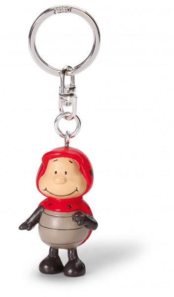 Nici 37511 Keyfriends Schlüsselanhänger Marienkäfer Lady May ca 5cm PVC Figur
