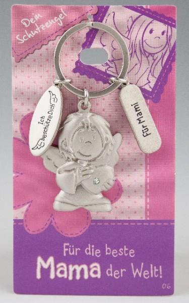 Depesche 7518 Schutzengel Schlüsselanhänger Nr. 006 Beste Mama Mami