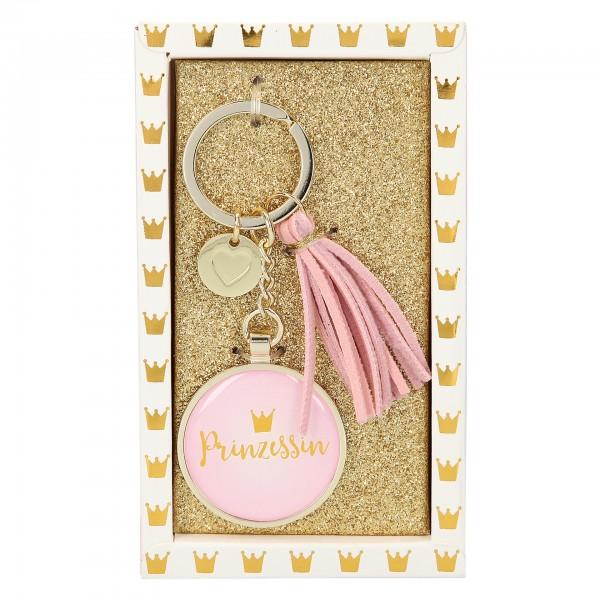 Depesche 10268 Glamour Schlüsselanhänger - Prinzessin