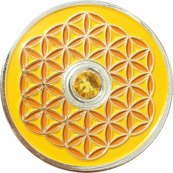Berk Innere Welten EN-730-3 Taler Blume des Lebens - Ich mag dich!