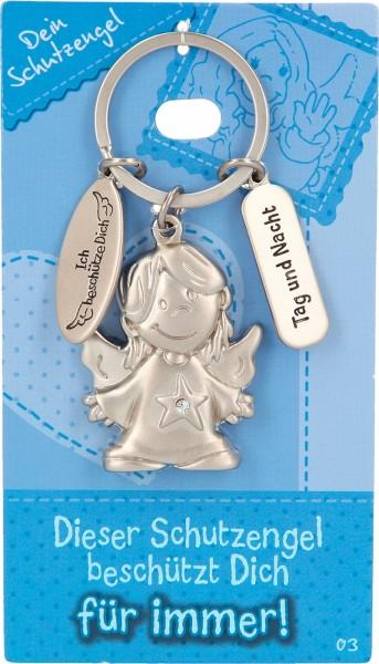 Depesche 7518 Schutzengel Schlüsselanhänger Nr. 003 Schutzengel Tag und Nacht