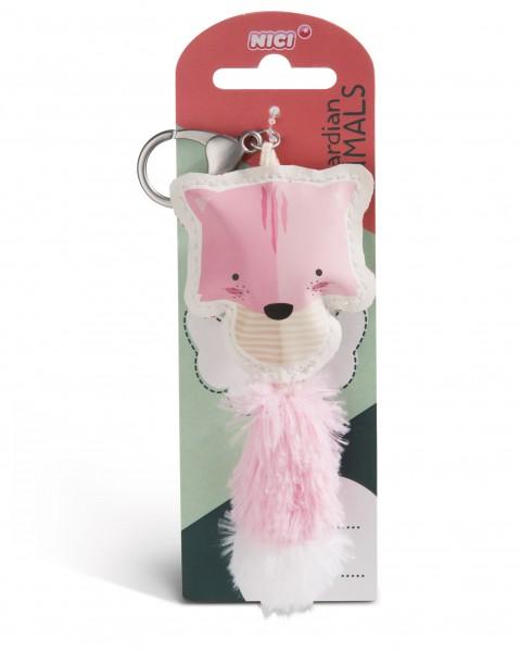 Nici 45581 Guardian Animals Katze hellrosa 12cm Taschenanhänger Kunstleder