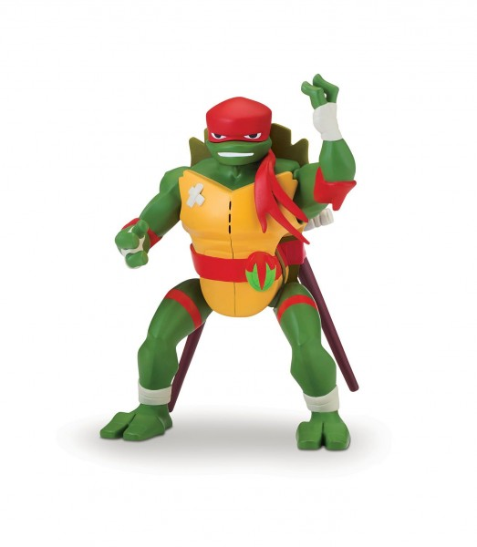 Rise of the Teenage Mutant Ninja Turtles Side Flip Ninja Action Raphael 81404
