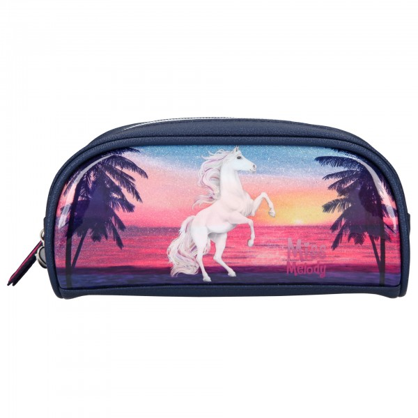 Depesche 10587 Pferd Miss Melody Schlampertasche Mäppchen Glitter Ocean