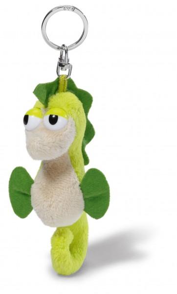Nici 37194 Schlüsselanhänger Seepferdchen grün ca 10cm Plüsch