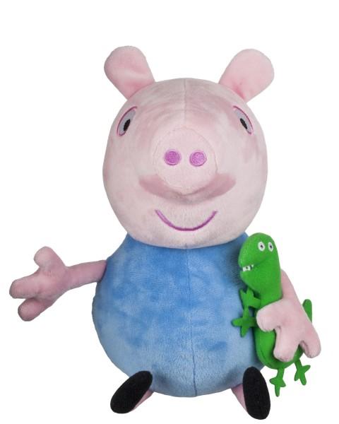 Peppa Pig Plüschfigur mit Sound ca 30cm Jazwares PEP0515 Schorsch George