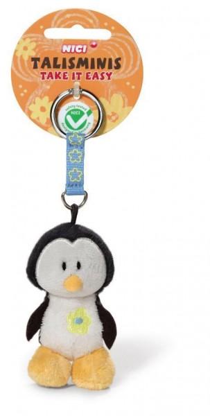 Nici 37389 Schlüsselanhänger Talismini Pinguin 7cm Keychain Plüsch