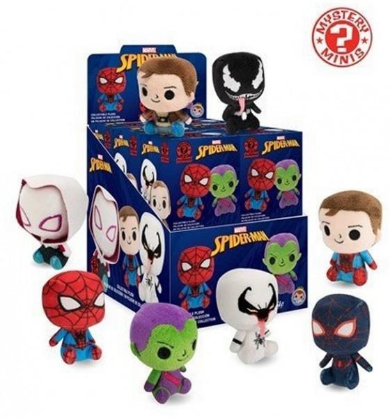 Funko Marvel Spider-Man Mystery Minis Plushies Plüschfiguren Blindbox 0+