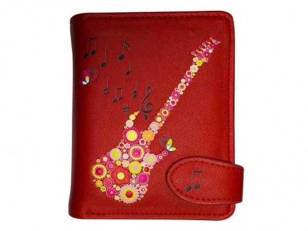bb Klostermann Geldbeutel Geldbörse Gitarre Rot 51168