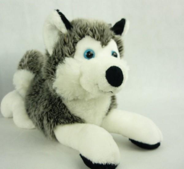 Schaffer 4742 Schlittenhund Polarhund Husky ca 30cm Kuscheltier Plüschtier