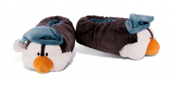 Nici 42042 Hausschuhe Pinguin Toddytom figürlich Winter Time Gr. 34-37