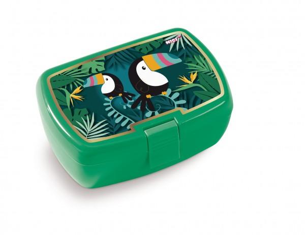 Nici 45450 Brotdose Lunchbox Tukan Tropicano Toucan