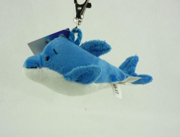Schaffer 0240 Schlüsselanhänger Plüsch Delfin Flipp ca 12cm