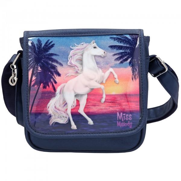Depesche 10589 Pferd Miss Melody kleine Umhängetasche Glitter Ocean