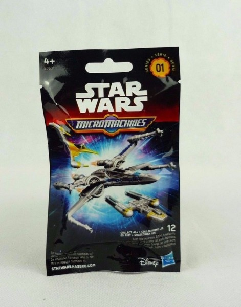 Star Wars Micromachines Sammeltüte Serie 1 Hasbro A3681 Mysterybag Blindbag