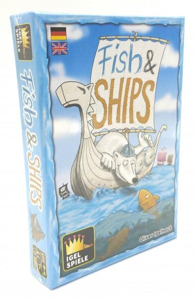 Fish & Ships - Tolles Plättchenspiel für Kinder ab 7 Jahren