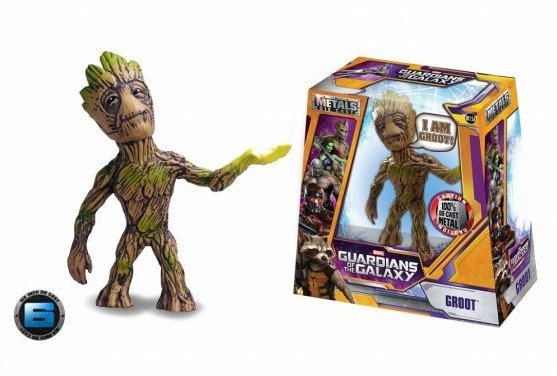 Metals M156 Marvel Guardians of the Galaxy Groot XL Die-Cast Sammelfigur 15cm