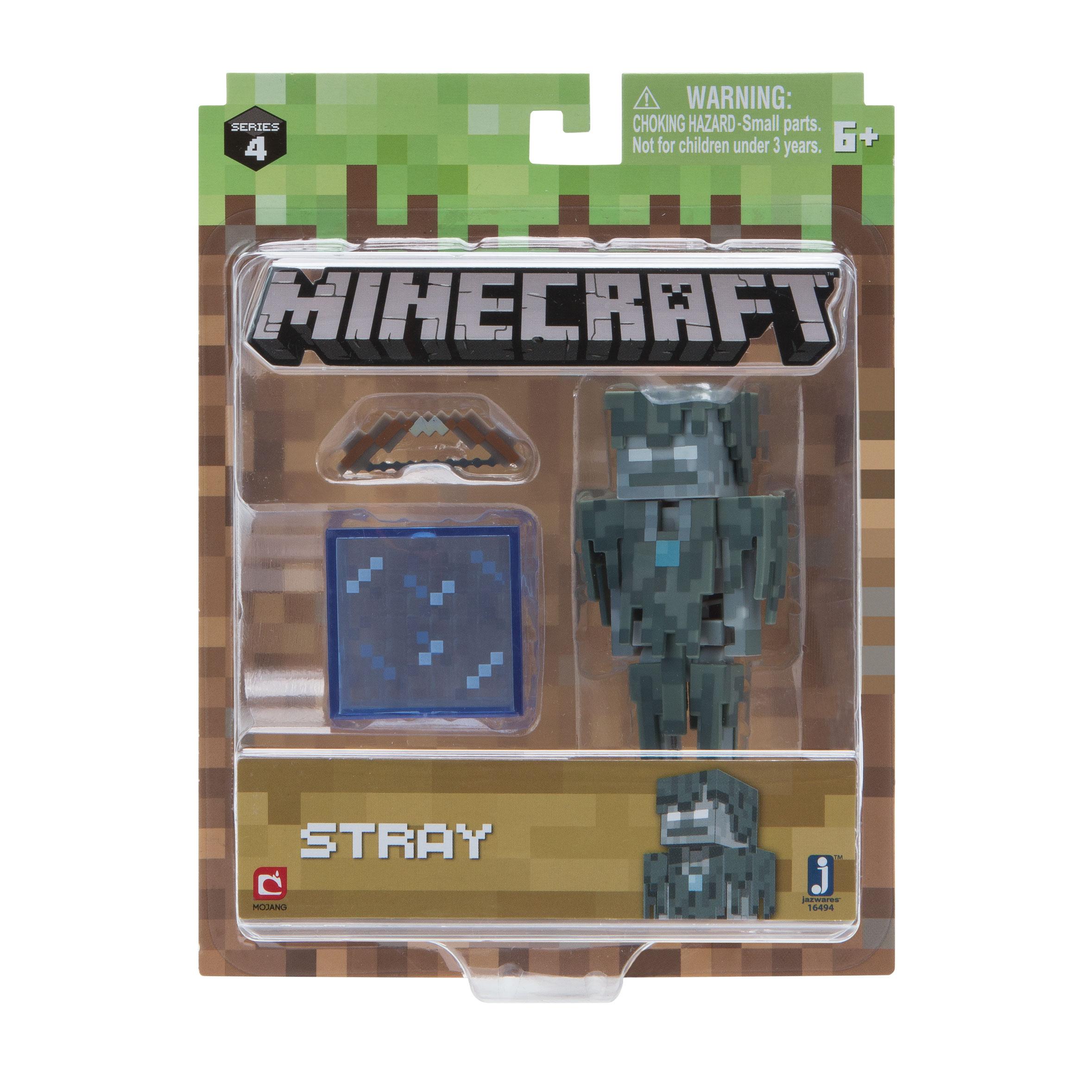 Minecraft Figur Spielset Eiswanderer /& Accessoire Jazwares 16494