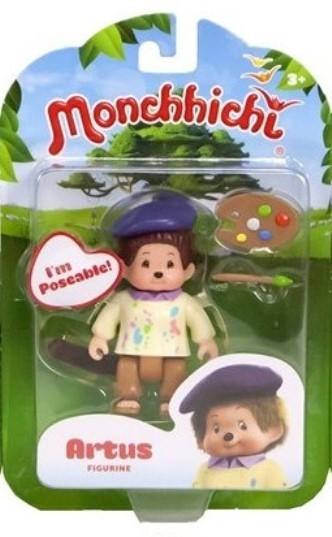 Silverlit 54102 Monchhichi bewegliche Spielfigur ca. 7,5cm - Artus