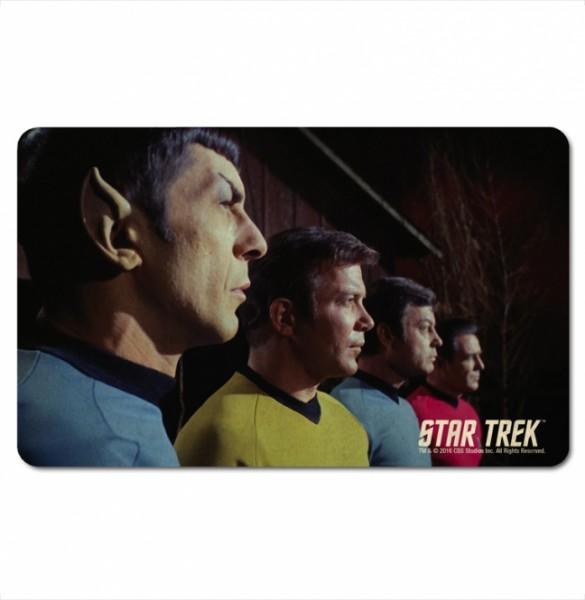 Star Trek TOS Spock Kirk McCoy Scotty Frühstückbrett Spülmaschinenfest (KuK)
