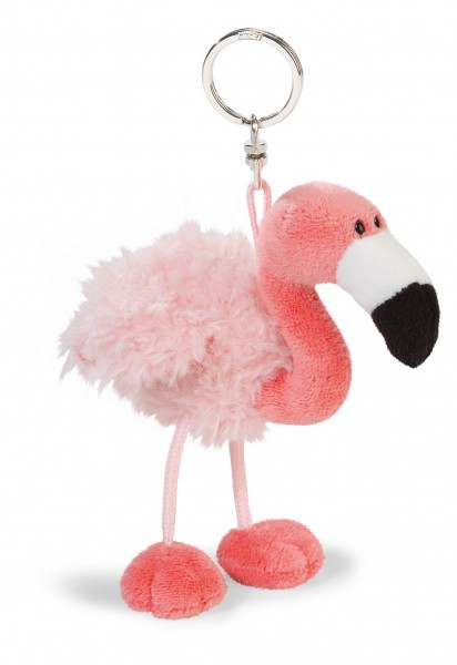 Nici 41655 Schlüsselanhänger BeanBag Flamingo ca 10cm Plüsch