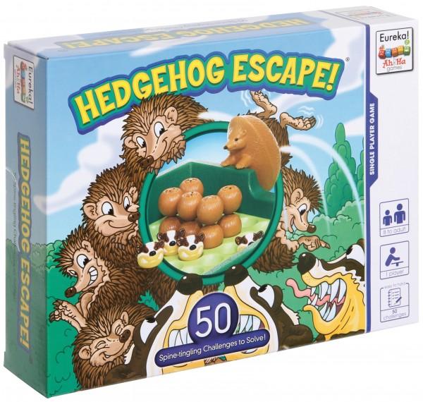 Hedgehog Escape heckenspringendes Fluchtpuzzle 1 Spieler Eureka 473543