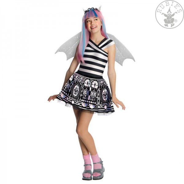 Monster High Kostüm Rochelle Goyle L ca 128-140 (7-9 Jahre) Rubies 881679
