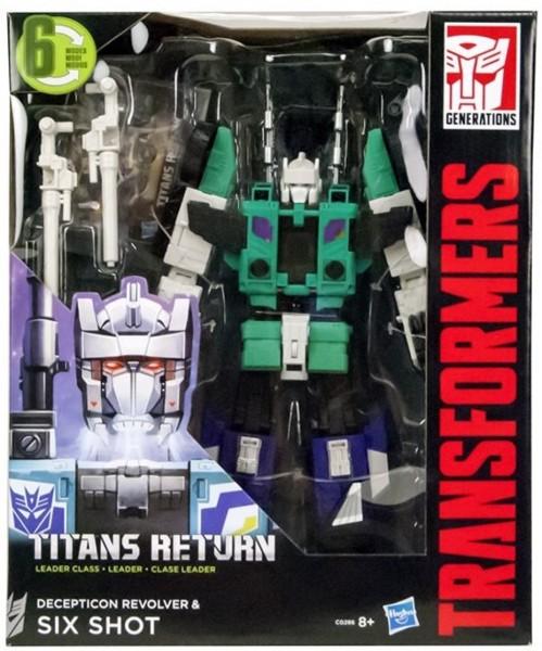 Transformers Titan Return Leader Class Deception Revolver & Six Shot C0286