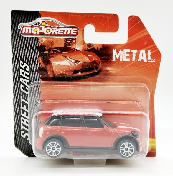 Majorette Street Cars Metal Sammelfahrzeug - Mini Cooper WRC in 1:57