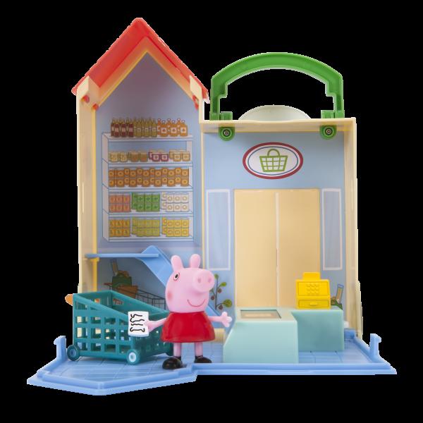 Peppa Pig Wutz Little Places Grocery Einkaufsladen Spielset Jazwares 96581
