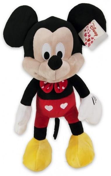 Disney Mickey & Minnie Mouse Hearts Herzen Mickey Maus ca 27cm Plüsch