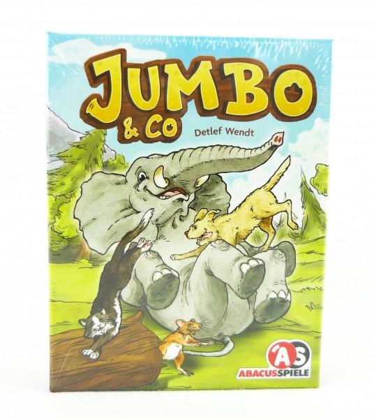 Jumbo & Co. tierisches Kartenspiel Familienspiel für 3-6 Spieler ABA08152