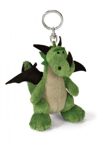 Nici 36002 Schlüsselanhänger Drache grün sitzend ca 10cm Bean Bag Plüsch
