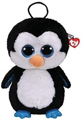 TY Gear Plüsch Rucksack Pinguin Waddles ca 30cm Kindergartenrucksack