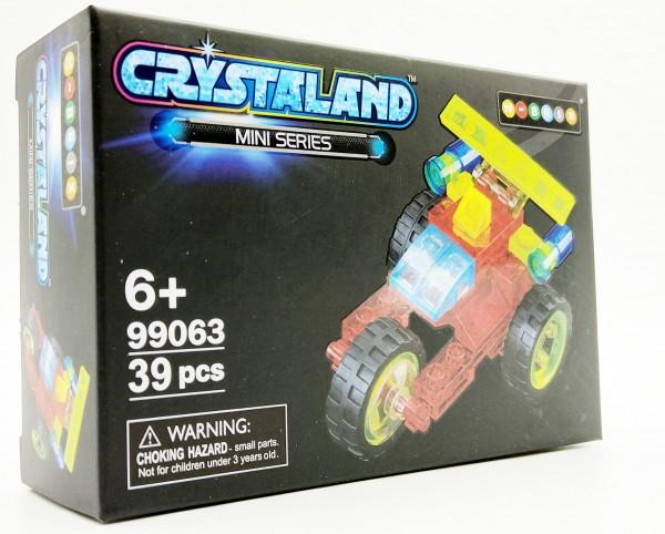 N-Brix Crystaland Mini Series Bausteine - 99063 Dreirad (39 Teile)