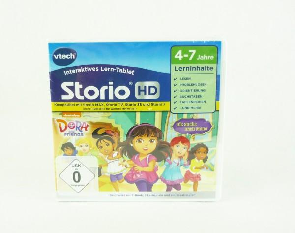 VTech Storio HD Lernspiel Dora and Friends 4-7 Jahre Die Suche nach Momo