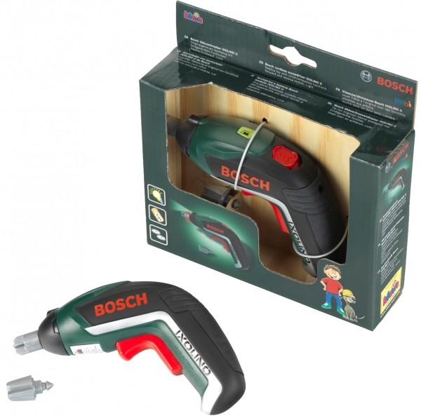 Bosch Akkuschrauber Ixolino II Kinderspielzeug + Zubehör Batteriebetrieben 8300