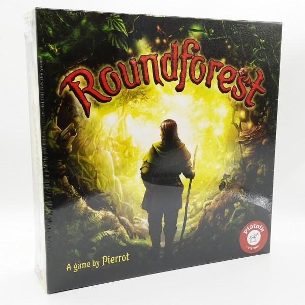 Roundforest Brettspiel im verwunschenen Wald Rätsel für 2-4 Spieler
