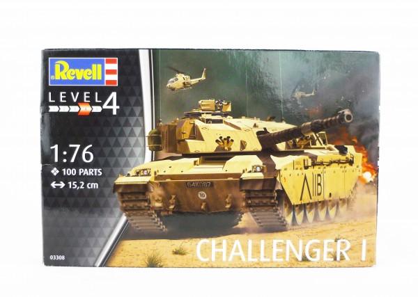 Revell 03308 Level 4 Panzer-Modell Challenger I Modellbausatz 1:76