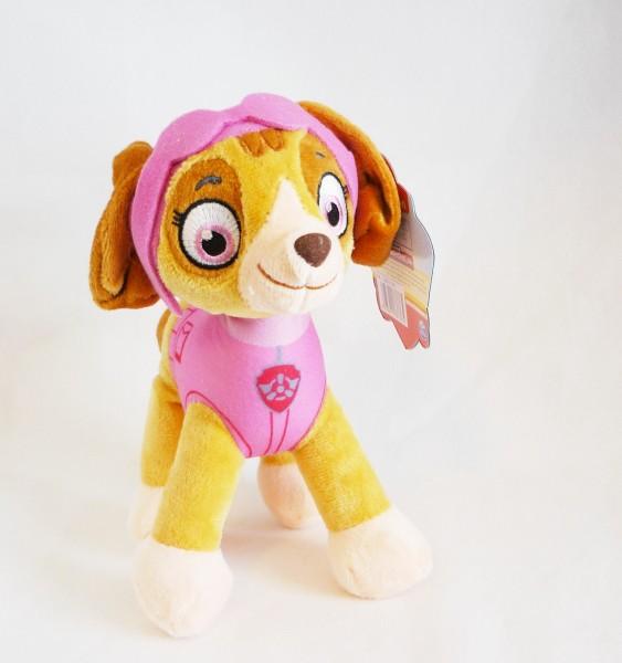 Paw Patrol Hund Plüsch Kuscheltier ca. 19cm - Skye (rosa) L50