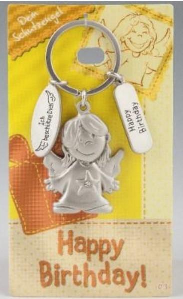 Depesche 7518 Schutzengel Schlüsselanhänger Nr. 003_F Happy Birthday