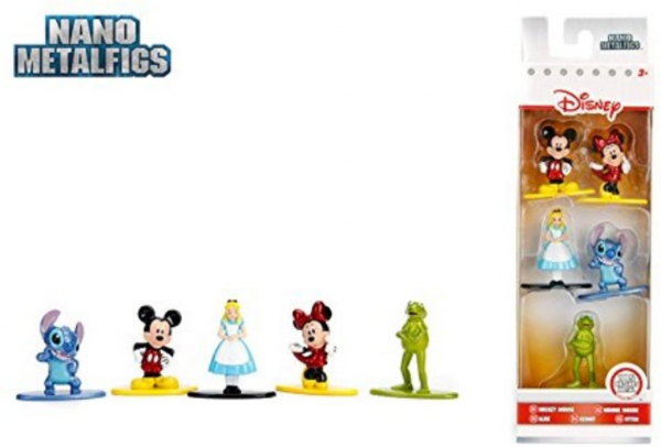 Disney Nano Metalfigs Collector´s Set 5er-Pack Die-Cast Metal Sammelfiguren