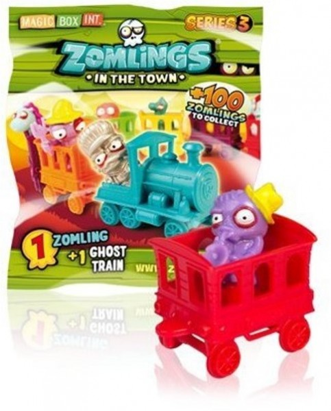Blindbag Zomlings in the Town Serie 3 Sammelfigur Zombie